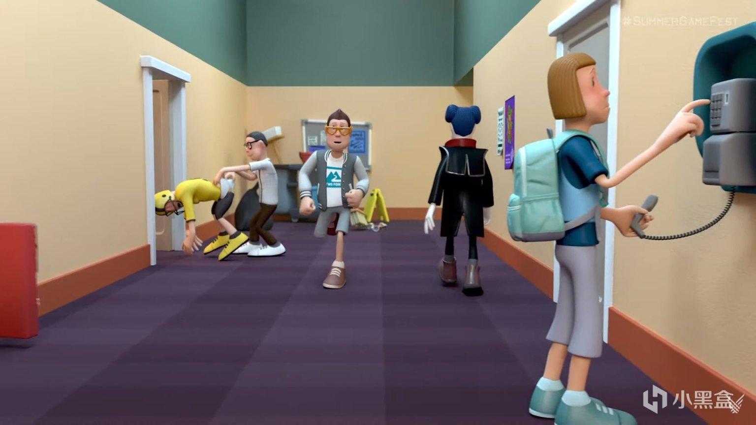 E3夏季游戏节:双点医院开发商新作《双点校园》正式公开
