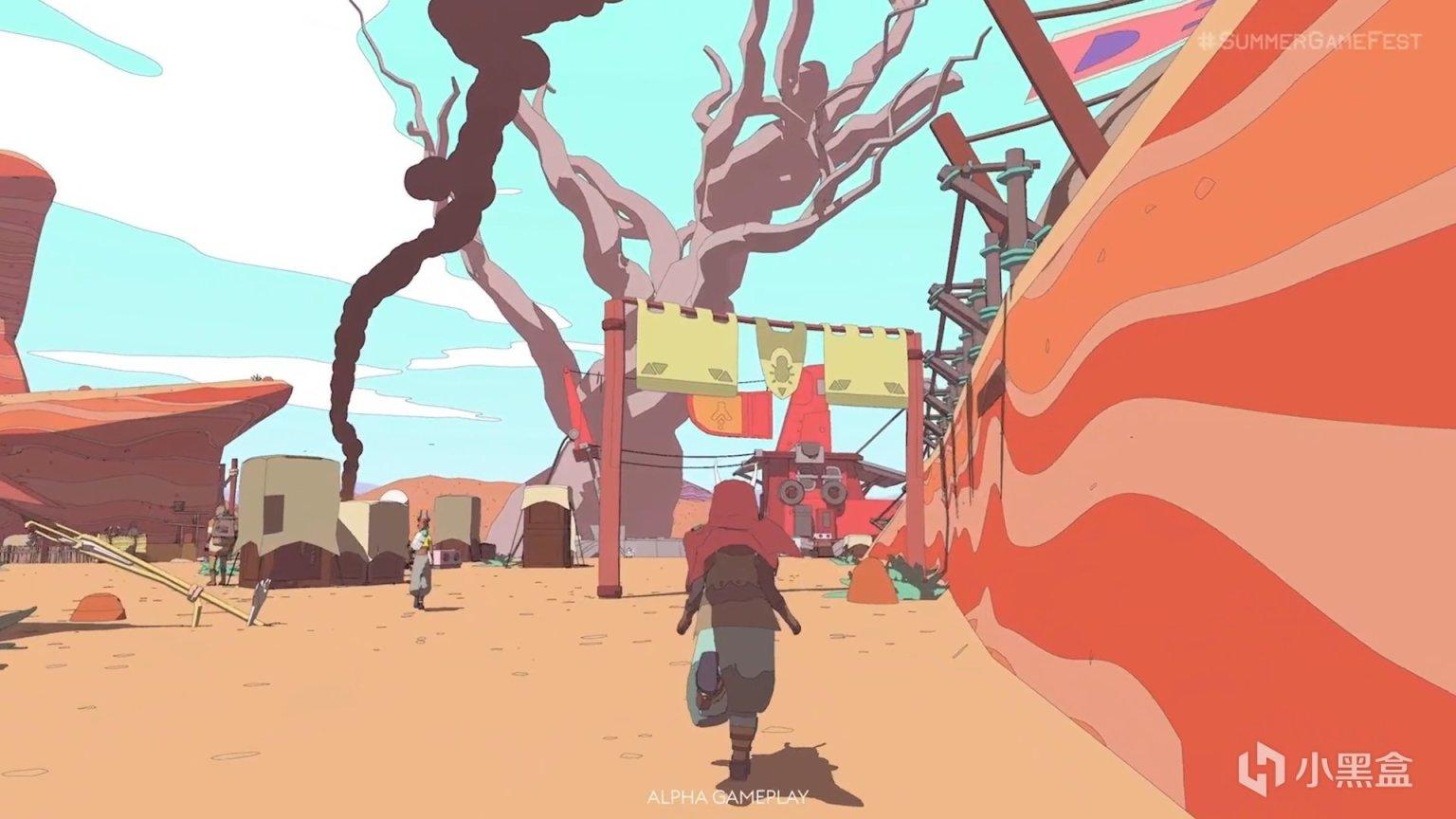 E3夏季游戏节:吉卜力+墨比斯画风《Sable》发布新宣传片