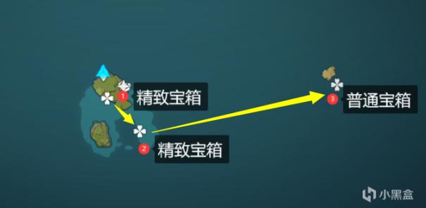 【原神冒险团】海岛宝箱全收集 看看你收集全了吗(退潮前)