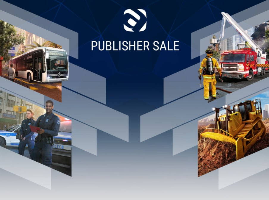 Astragon Entertainment发行特卖 各类职业模拟游戏打折促销中