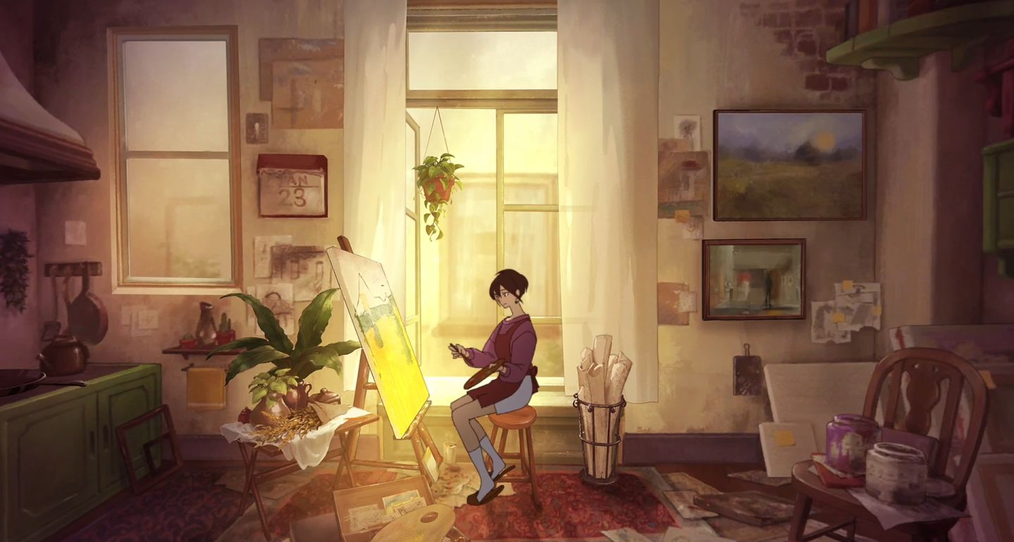即便记忆选择停留,却也无法与你相拥:《倾听画语:最美好的景色》插图